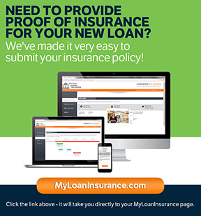 Banner ad for MyLoanInsurance.com to upload auto insurance docs.