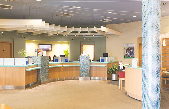 Poulsbo branch interior