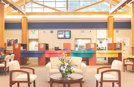 Belfair Branch interior