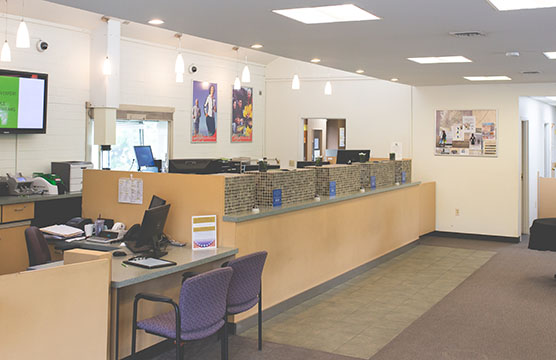 Port Orchard branch interior