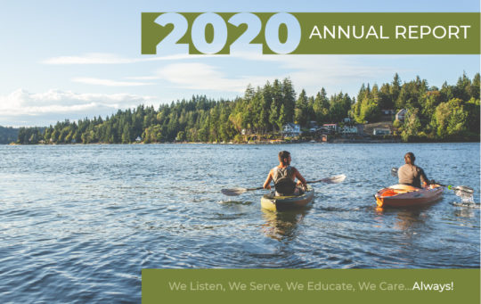 2020 Annual Report Cover Image
